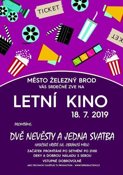 Letní kino v Železném Brodě uvede dvě české komedie