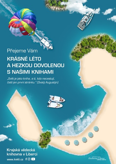 Program Krajské knihovny v Liberci o prázdninách