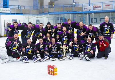 Titul v Lomnické lize slaví poprvé v historii HC Black Rooks Syřenov
