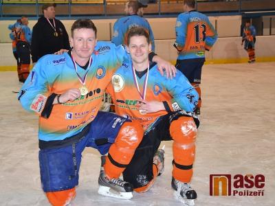 FOTO: Lomnickou ligu 2013 vyhráli hokejisté BHK Turnov