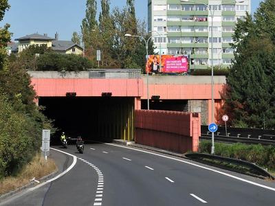 Liberecký tunel projde tradiční podzimní údržbou, řidiče čeká omezení
