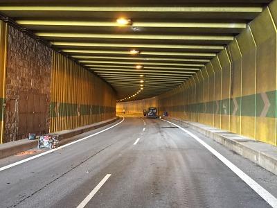 Dopravní omezení v libereckém tunelu skončí, diagnostika ještě letos