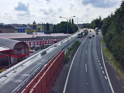 Oprava opěrné zdi finišuje, liberecký tunel čeká částečná uzavírka