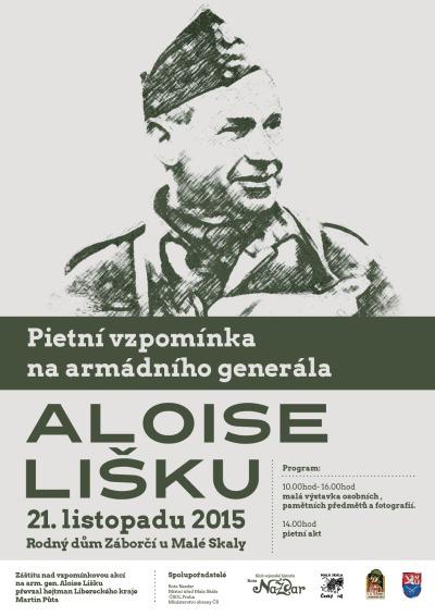 Rota Nazdar připomene 120. výročí narození generála Lišky v Záborčí