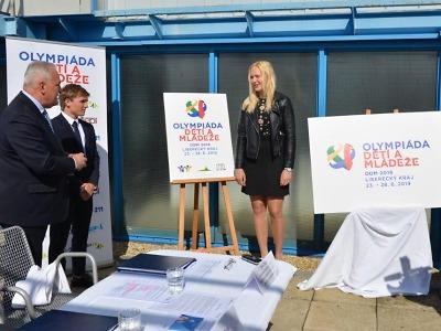 Letní olympiáda dětí a mládeže v Libereckém kraji odhalila své logo