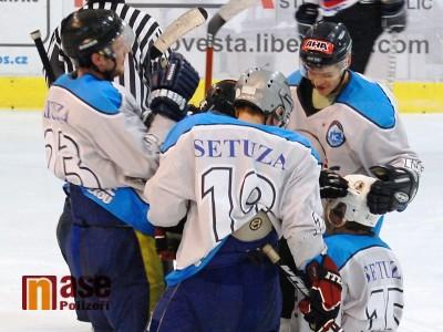 Výhra nad Frýdlantem posunula lomnické hokejisty do čela krajské ligy