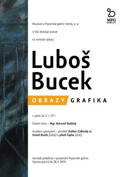 Nová výstava připomene semilského malíře a grafika Luboše Bucka