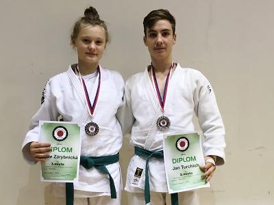 Stříbro a bronz pro turnovské judo na šampionátu dorostenců