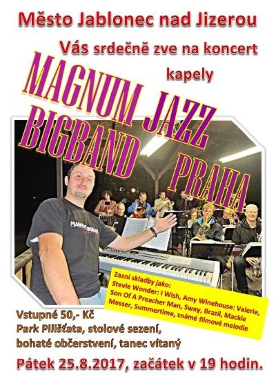 Kapela Magnum Jazz Bigband zavítá do Jablonce nad Jizerou