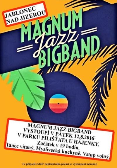 Magnum Jazz Bigband roztancuje jablonecká Pilišťata