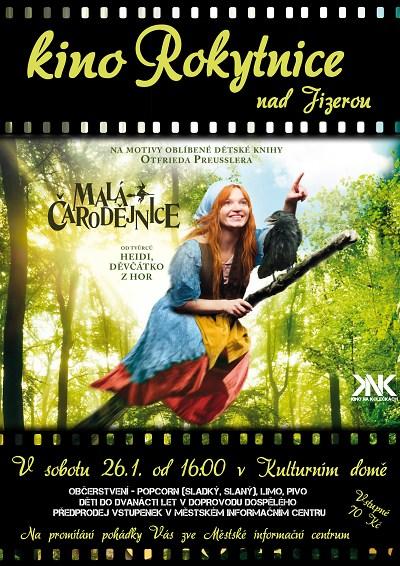 Malá čarodějnice přiletí do Rokytnice
