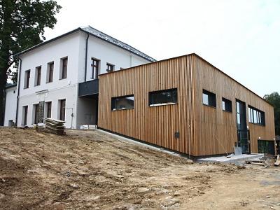 Základní škola v Mašově je před dokončením
