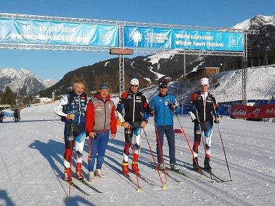 Veteráni z Krkonoš si vedli úspěšně na 3. Zimních světových hrách