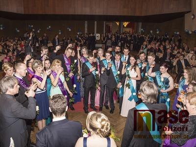 Obrazem: Maturitní ples ISŠ Semily 2017