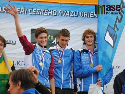 FOTO: Šampionát orientačních běžců trojnásobným triumfem Turnova!
