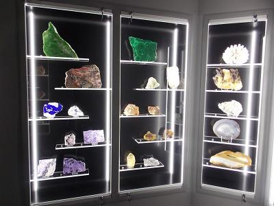 V turnovském muzeu proběhla rekonstrukce expozice mineralogie