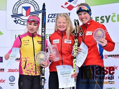 FOTO: Lyžařskou sezonu běžkařů zakončil šampionát na Mísečkách