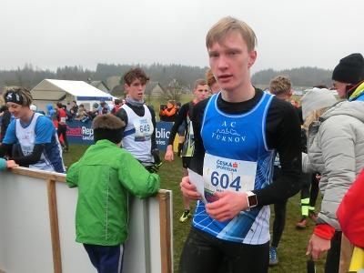 Turnovští atleti závodili na šampionátu v krosu, bronz má Michal Hanyk