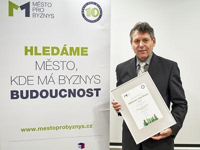 Jablonec je Městem pro byznys desetiletí, uspěly i Brod a Turnov