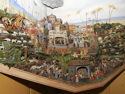 Slavnému Metelkovu betlému je letos 100 let