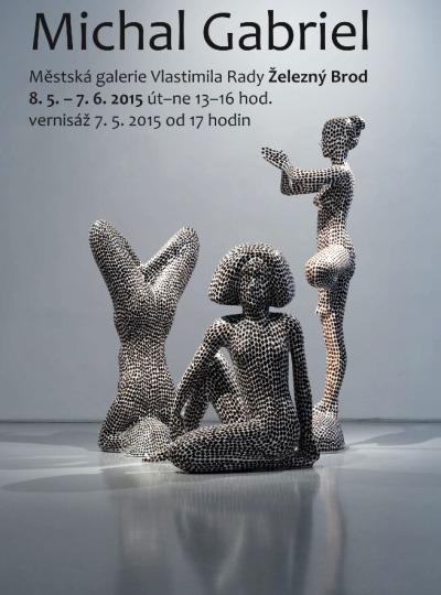 V železnobrodské galerii uvidíte sochy Michala Gabriela