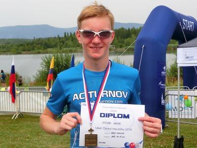Michal Hanyk sbírá úspěchy v atletice, triatlonu i aquatlonu