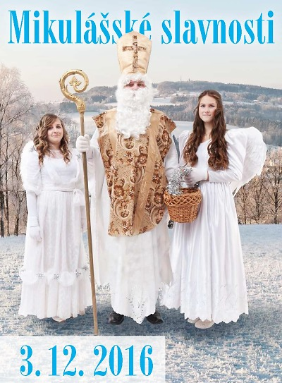 Mikulášské slavnosti v Lomnici doprovodí Čertovská pohádka