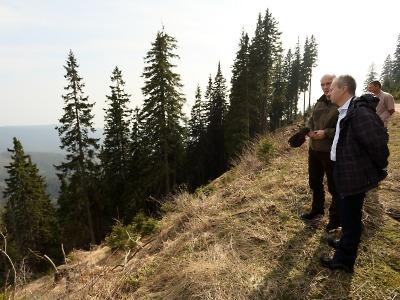 Ministr životního prostředí Brabec navštívil Krkonoše