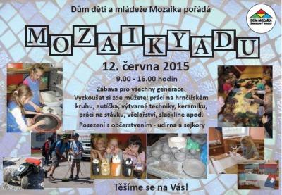 Mozaikyáda zabaví malé i větší děti v Železném Brodě