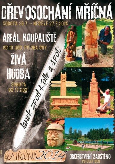 Janek z pod Kotle a další dřevosochaři oživí koupaliště v Mříčné