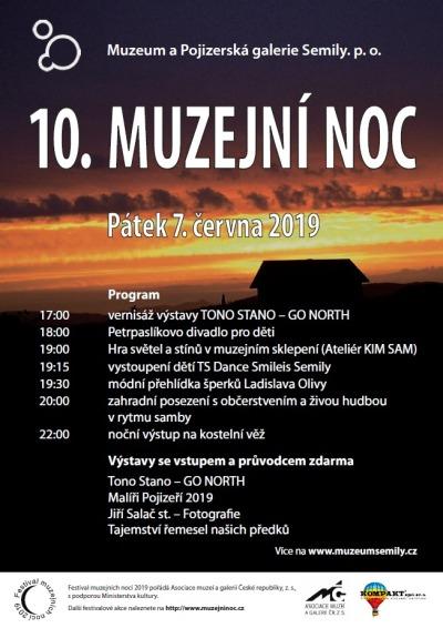 Při muzejní noci v Semilech zahájí výstavu Tono Stano – Go North