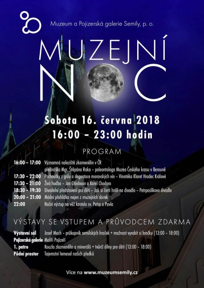 Muzejní noc v Semilech nabídne hudbu, divadlo i módní přehlídku