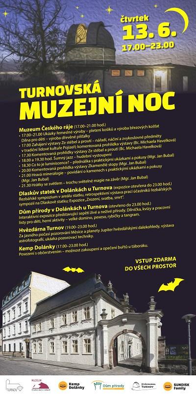 Turnovská muzejní noc nabízí program v pěti objektech