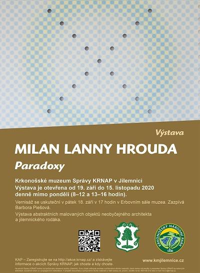 V Jilemnici chystají výstavu Paradoxy Milana Lanny Hroudy
