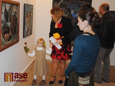 FOTO: V Pojizerské galerii otevřeli výstavu Jaroslava Klápštěho