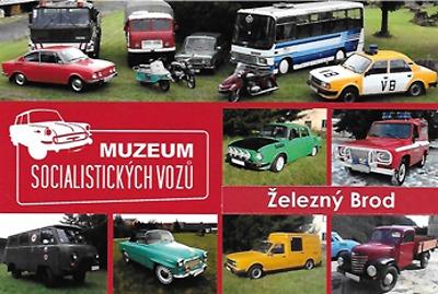 V Železném Brodě otevřou muzeum socialistických vozů