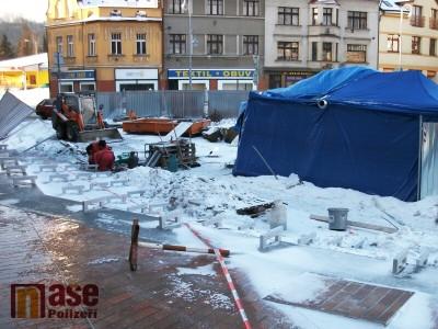 Semilské náměstí bude otevřeno v celé ploše ještě před Vánoci