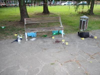 Popíjení v jilemnickém parku vyústilo v brutální napadení dvou mužů