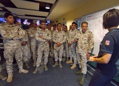 Příslušníci jordánských ozbrojených cvičili u hasičů v Liberci a Jablonci