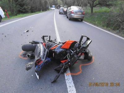 Tragické nehody motorkářů začátečníků pokračují i v květnu