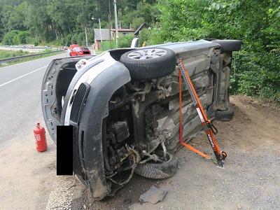 Vlivem rychlosti se v Železném Brodě střetl s protijedoucím autem
