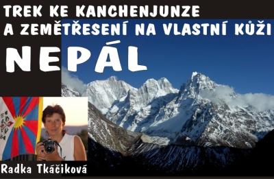 O posvátné Kanchenjunze a Nepálu bude vyprávět Radka Tkáčiková