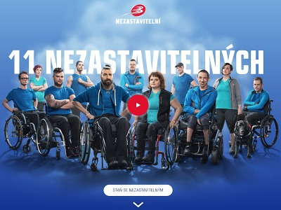 Zdolejte Ještěd a pomozte 11 handicapovaným