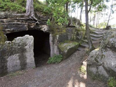 Méně známé místo v kraji je i skalní hrad Stohánek