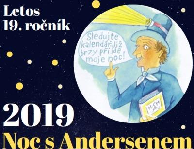 V knihovnách v Libereckém kraji můžete strávit Noc s Andersenem