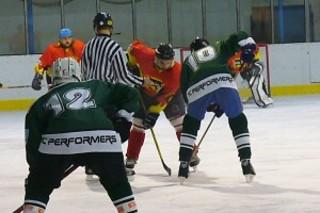 Na led vyjeli první pojizerští hokejisté