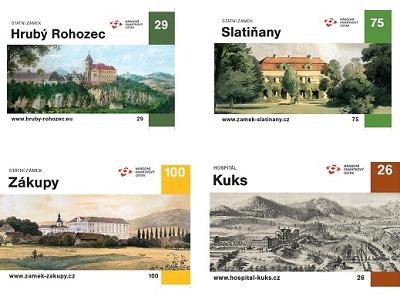 Na hrady a zámky už s novými vstupenkami z unikátní sběratelské edice