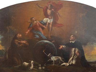 Extáze svatého Františka v obrazech Jana Jiřího Hertla a Pavla Roučky
