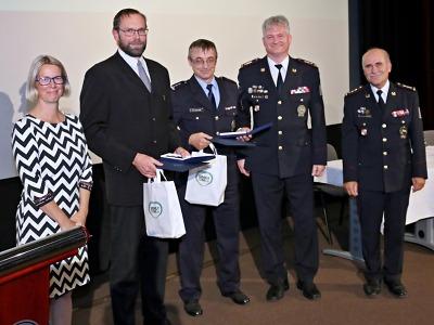 Za příkladnou službu ocenili policisty Územního odboru Semily