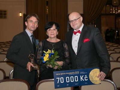 Expozice horolezectví získala cenu Gloria musaealis za počin roku